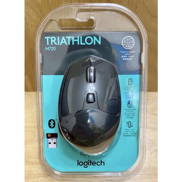 Logitech 羅技 M720 Triathlon無線多工滑鼠 unifying接收器