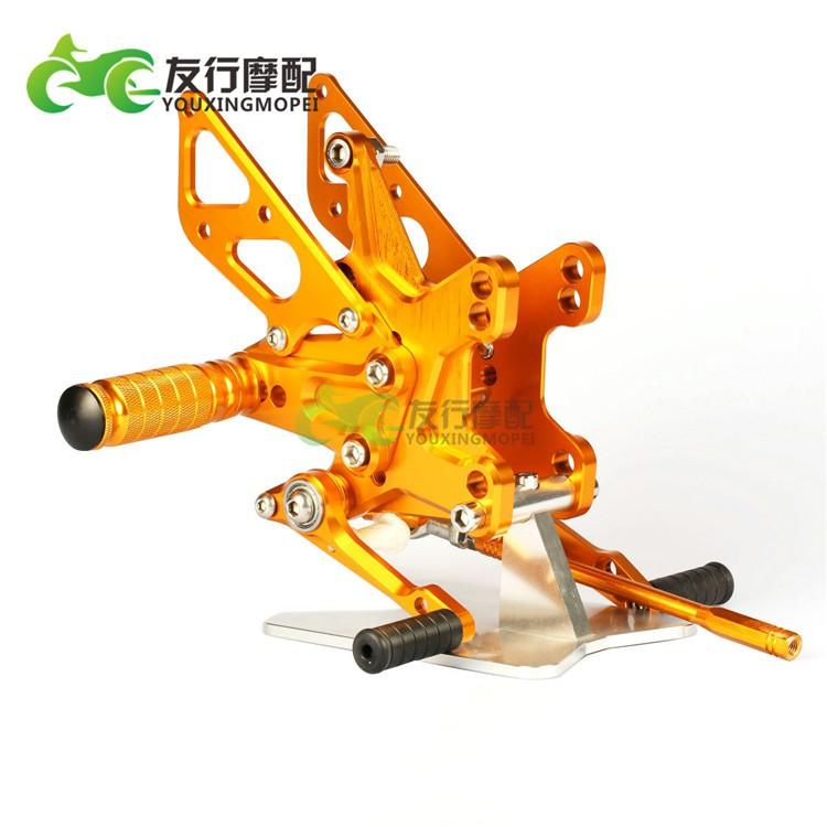|精品|MOTO-TRON 適用川崎 大牛 ZX-10R 11-19年 改裝升高腳踏 腳踏總成
