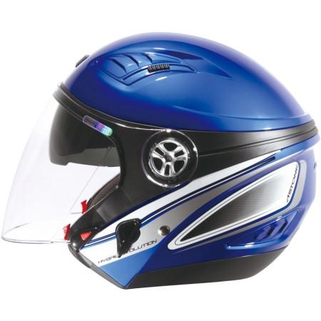 ASTONE DJ10C-OO8 海藍銀 內墨鏡 透氣 吸濕排汗 全可拆洗 3/4罩 安全帽《淘帽屋》