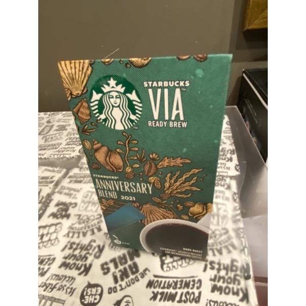 [星巴克]VIA即溶咖啡 掛耳咖啡 週年紀念 50週年 女神週年紀念豆 VIA即溶咖啡