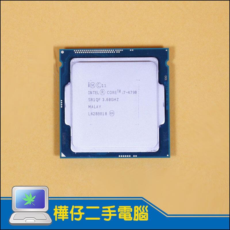 正式版-Intel Core i7-4790 (附散熱膏)  CPU 3.6G 1150腳位 I7 4790 二手CPU