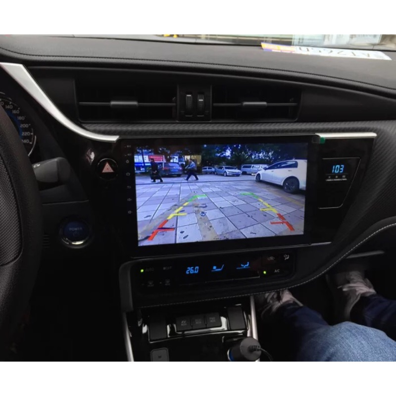 Toyota Altis 11代 10.2吋安卓機 行車記錄器 倒車顯影