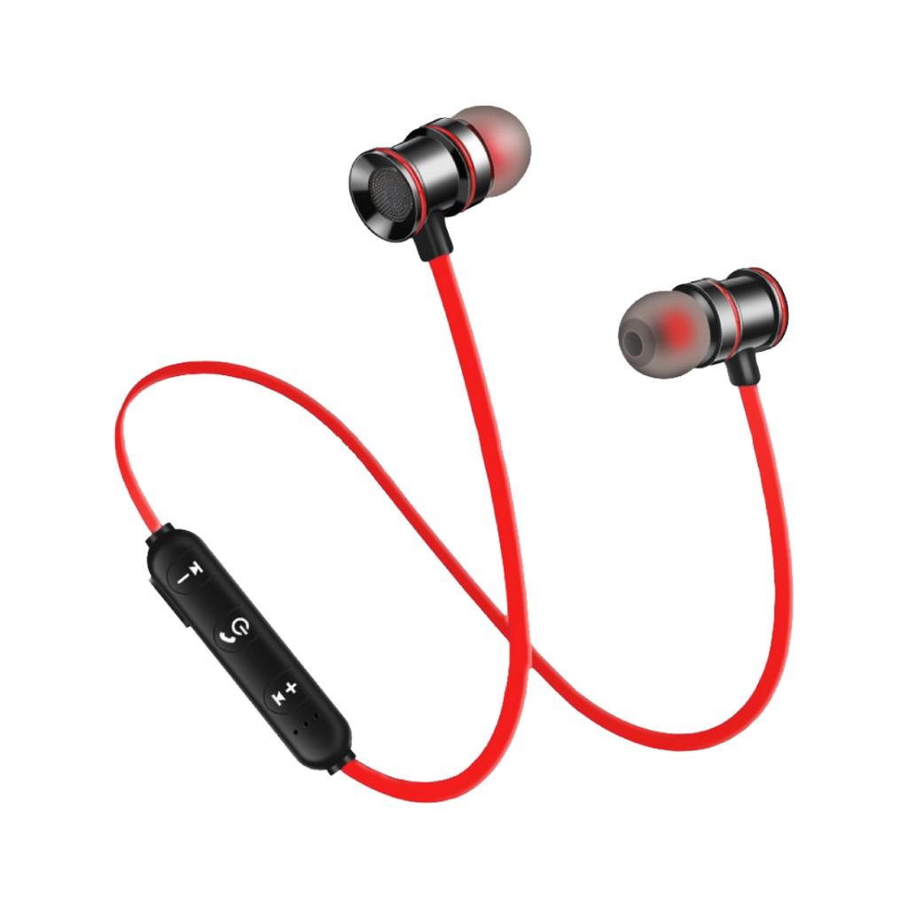 《請出價559》【SANSUI日本山水】磁吸式藍芽無線耳機SBE-60RD
