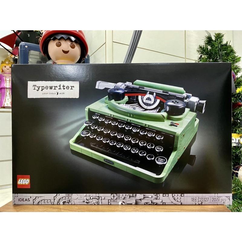 💯現貨💯 樂高 LEGO 21327 打字機 Typewriter IDEAS系列 21323 電報機