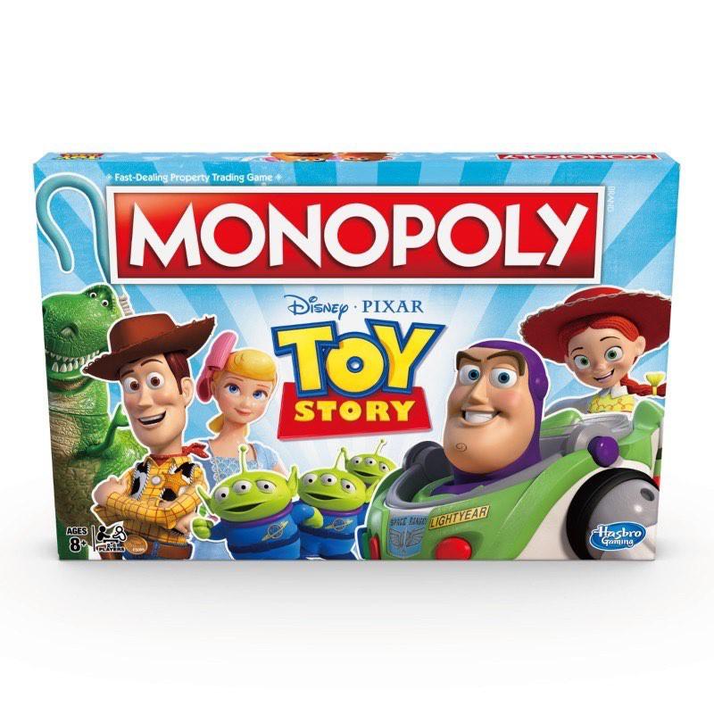 (卡司 正版現貨) 地產大亨 玩具總動員4 遊戲組 中文版 桌遊 快速成交地產投資遊戲