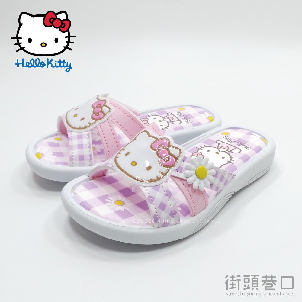 hello kitty 凱蒂貓 拖鞋 中大童鞋 厚底鞋【街頭巷口】小P孩寶貝城 818123