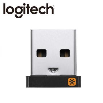 羅技 UNIFYING USB無線接收器 ● 一對六 隨插即用 ● 2.4GHz無線技術 幾乎零延遲 ●接收範圍達10M
