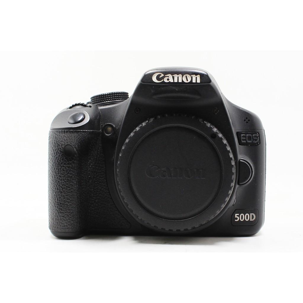 【台南橙市3C】CANON EOS 500D 單機身 二手相機 單眼相機 APS-C #12277