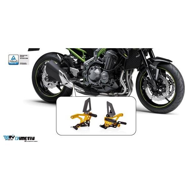 【R.S MOTO】KAWASAKI Z900 2020年新款 腳踏後移組 DMV