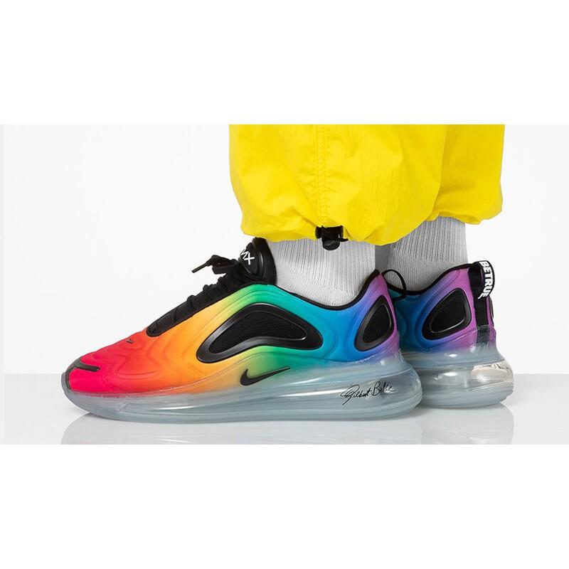 【老鞋頭】 Nike Air Max 720 Be True 漸層 彩虹 氣墊 全氣墊 慢跑 男 CJ5472 900