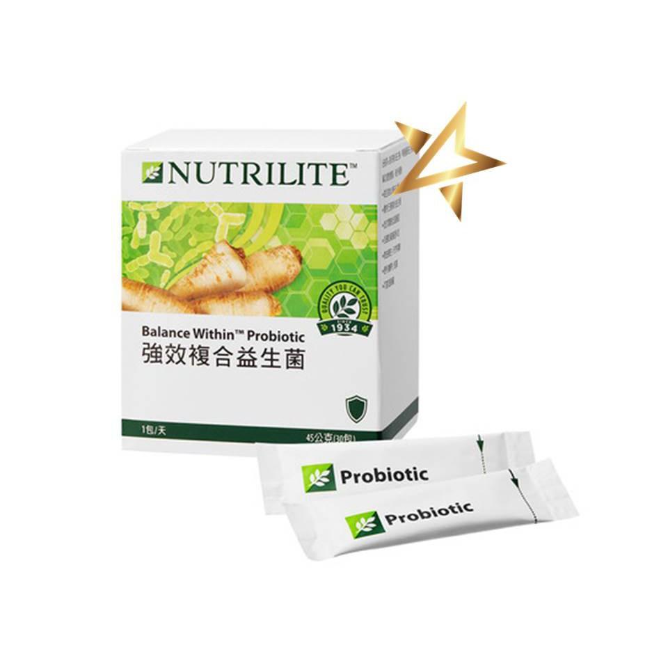 安麗Amway紐崔萊-強效複合益生菌30入、90入/高纖隨身包
