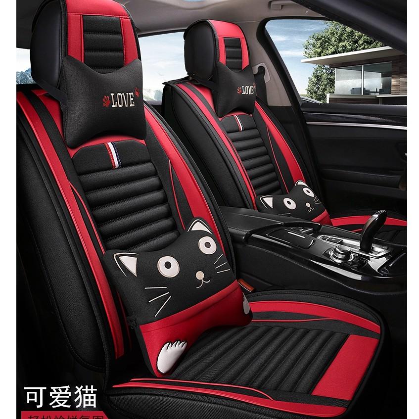 【免運】和泰豐田汽車座椅套豐田Sienta RAV4 C-HR豐田卡羅拉Corolla坐墊四季座套