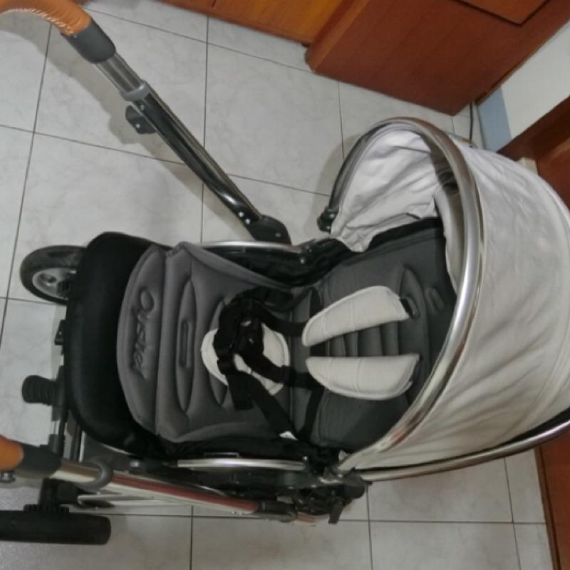 🇬🇧英國 Oyster2 雙向嬰兒手推車 白玉灰(降價求有緣人)