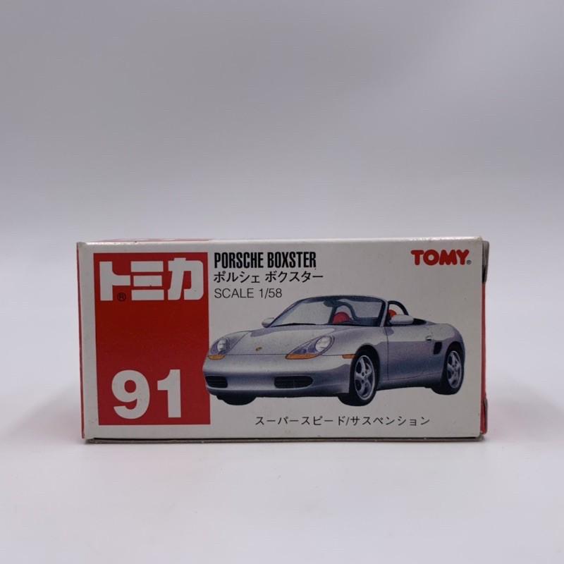 Tomica No.91 PORSCHE BOXSTER 紅標