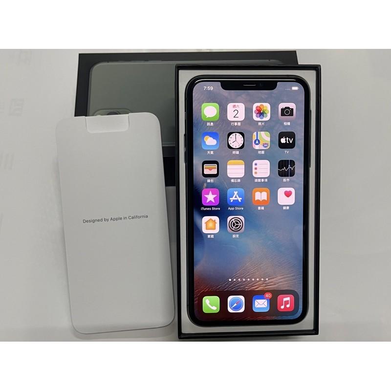 二手 近全新 夜幕綠色 iPhone 11 Pro Max 256g 台中可面交 256gb 非64g