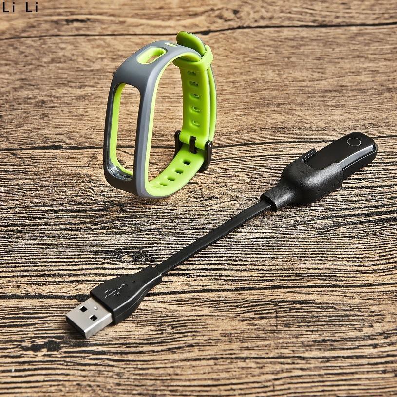 UAWEI華為band3 pro/手環band 3e充電器一體款/honor band4充電線 USB 腕帶傳輸線 LI