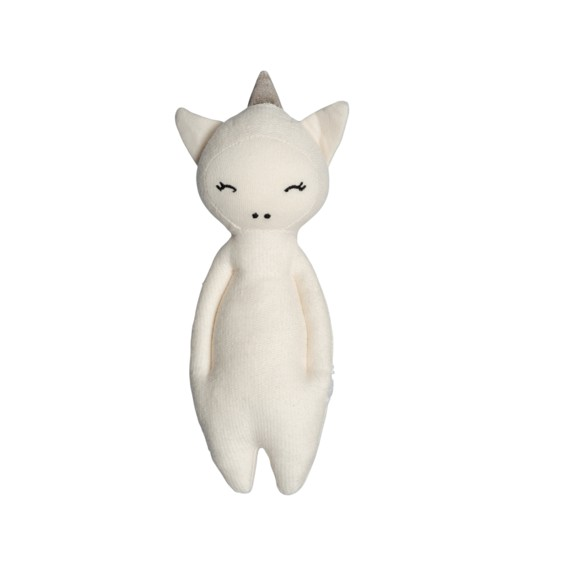 Fabelab l Soft rattle - unicorn 獨角獸抱抱手搖鈴