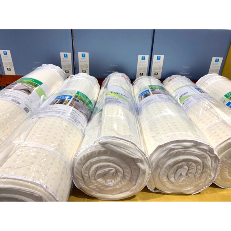 Costco 好市多 CASA 單人乳膠床墊 贈換洗布