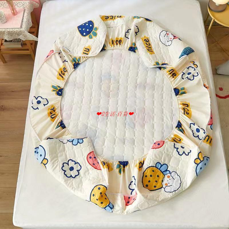 NEW保潔墊床包防水透氣涼感尿布墊防水墊產褥墊可水洗抗污防蟎鋪棉保潔墊_單人/雙人/加大