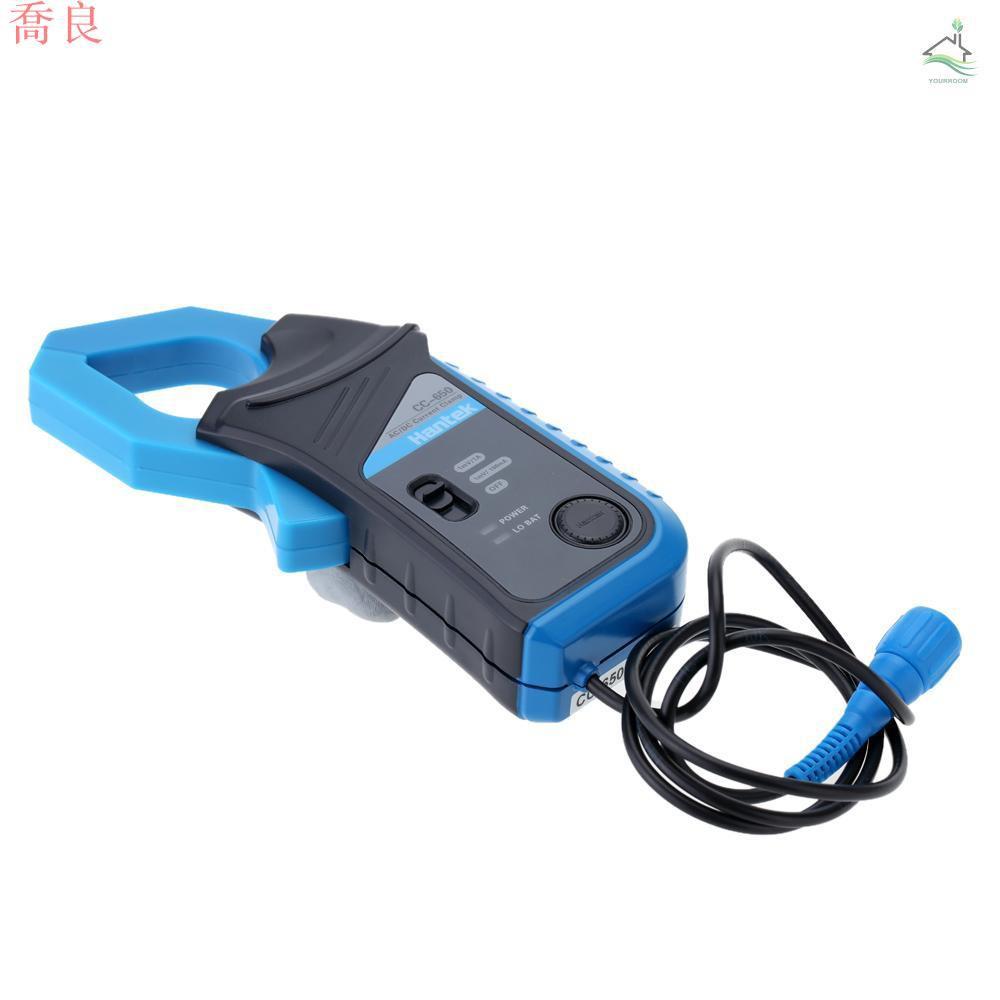 【喬良家電】漢泰CC-650 交/直流電流鉗BNC接頭400Hz帶寬20mA-650A 不帶電池出貨