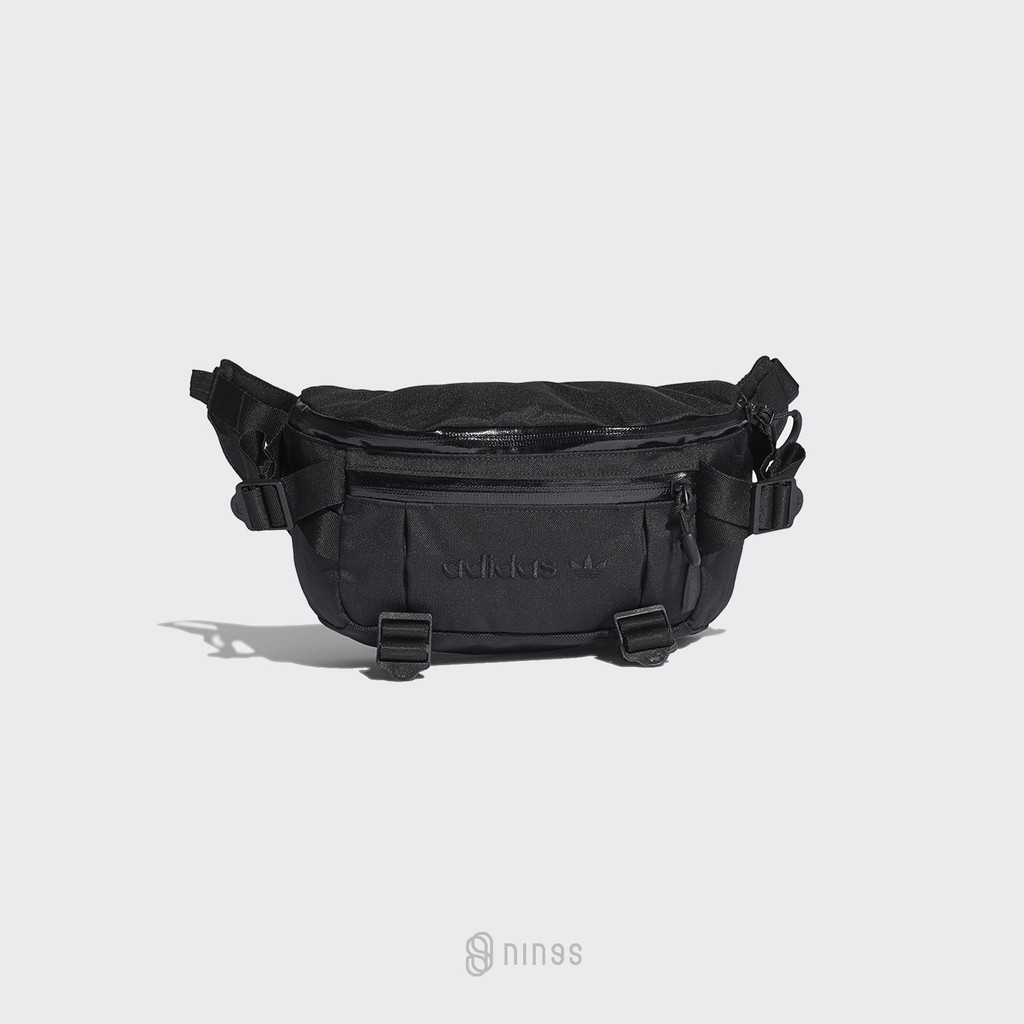 ADIDAS ADVENTURE WAIST BAG 黑色 多功能 腰包 GD5013