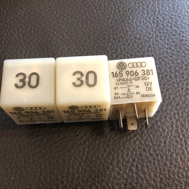 VW MK3 2.0 T4  30號原廠繼電器