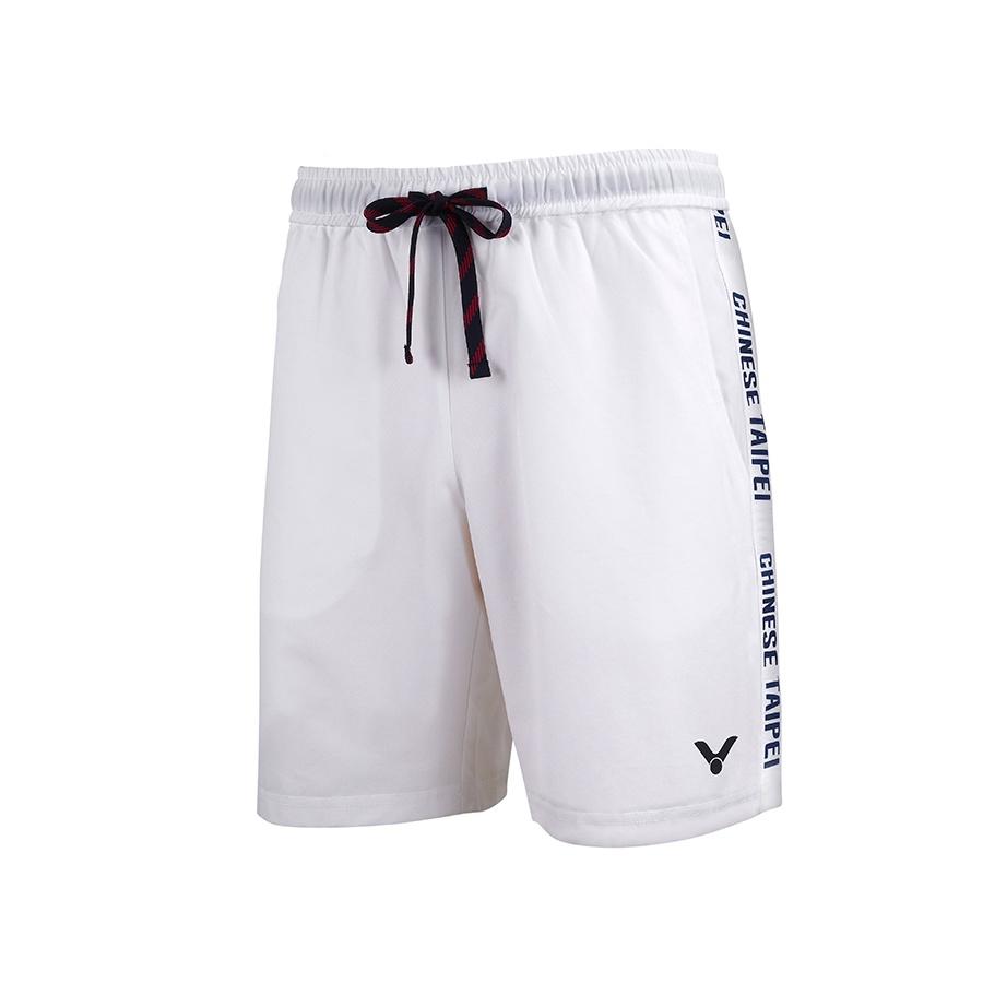 正品 僅試穿 S號 VICTOR R-2030 東京奧運中華隊休閒短褲 (中性) 吸濕 快乾 抗菌