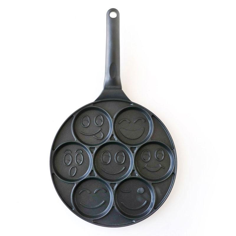 三箭牌 微笑多用途烤盤 WY-024 烤盤 紅豆餅 車輪餅 蛋糕 銅鑼燒 雞蛋糕 鬆餅