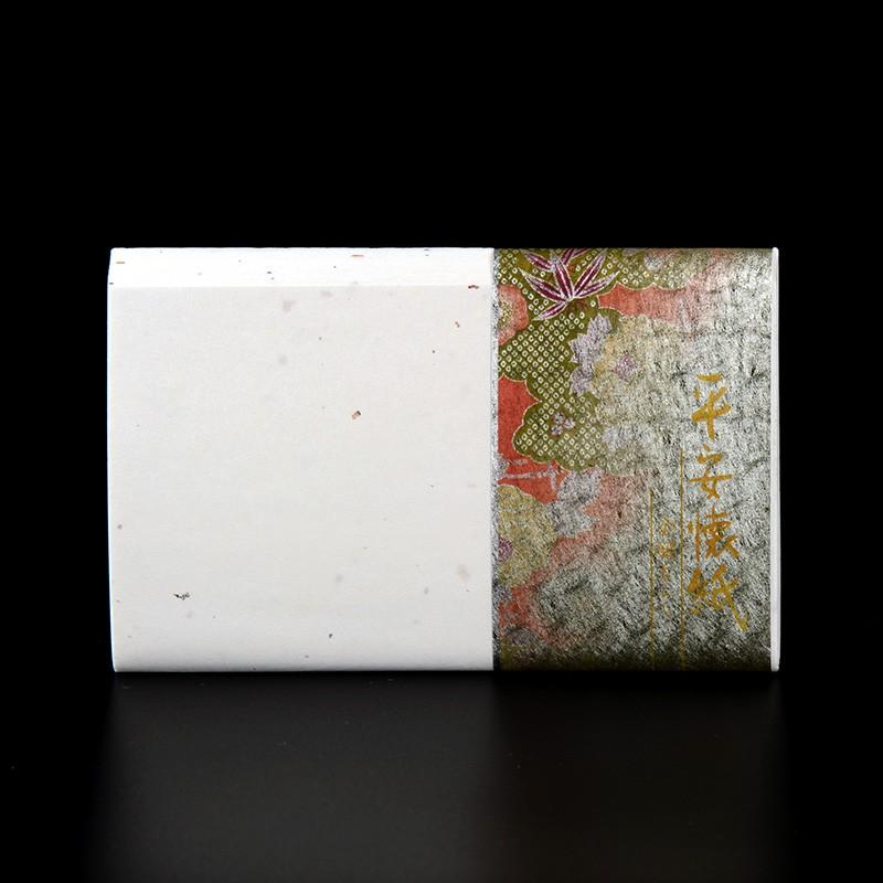 日本美濃和紙 平安懷紙 金銀砂子 30張 和風便箋信紙茶席點心墊紙