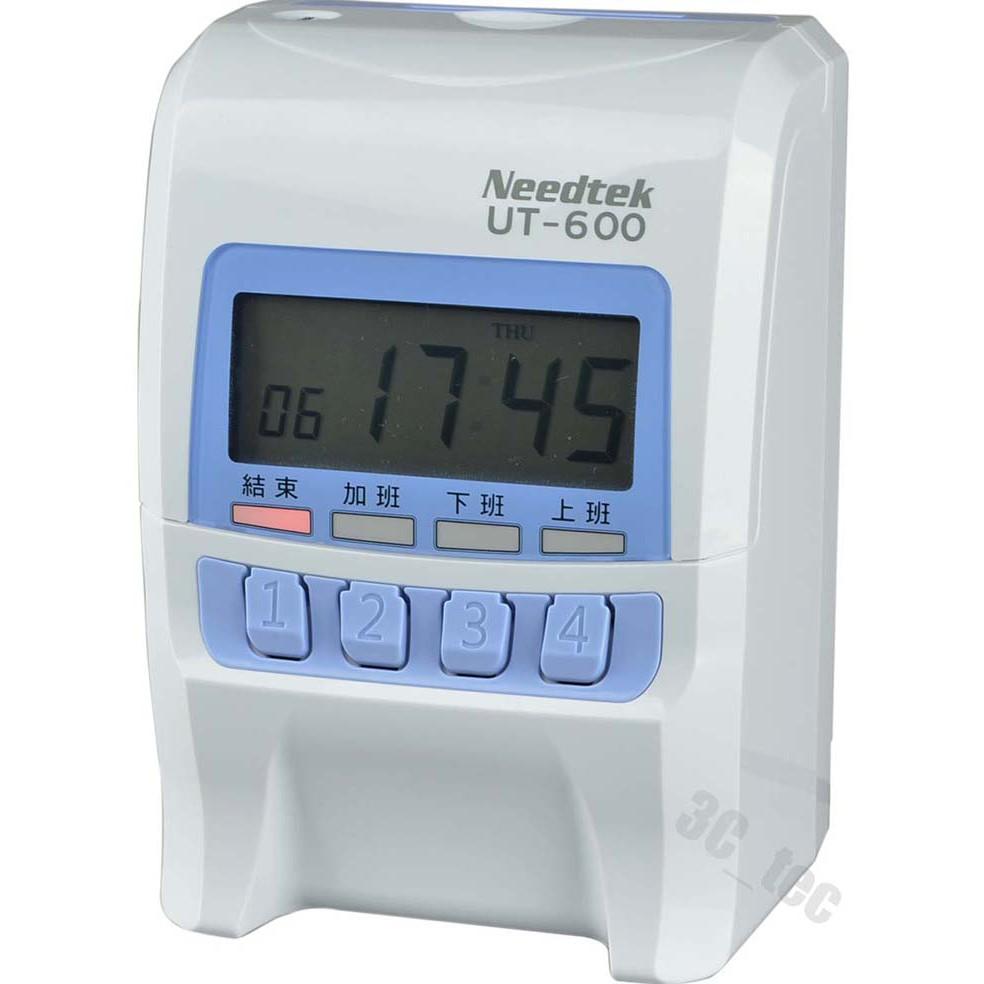 優利達 Needtek UT-600 小卡專用(同優美) 微電腦打卡鐘 贈卡片卡架