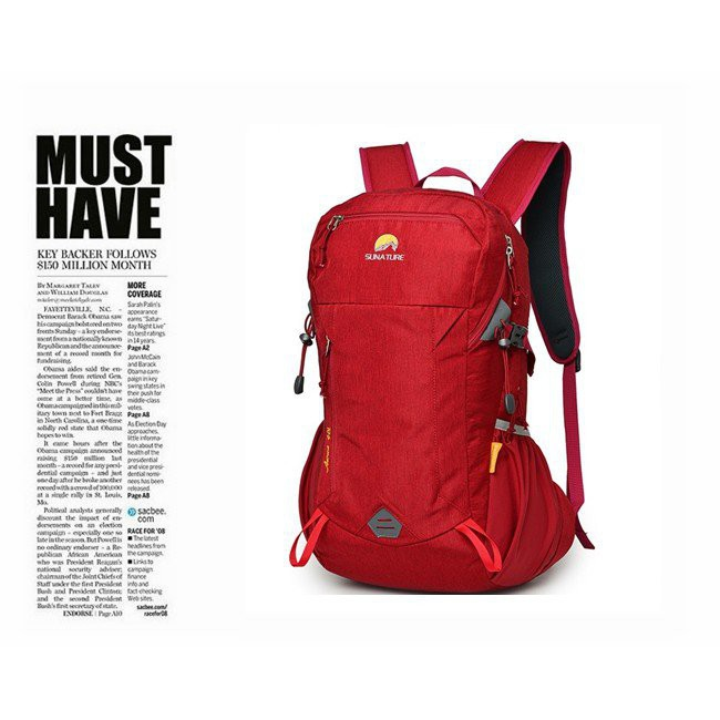 kkの戶外小舖28L 多用途 Sunature 登山背包 電腦背包 後背包 #8679 JJ53