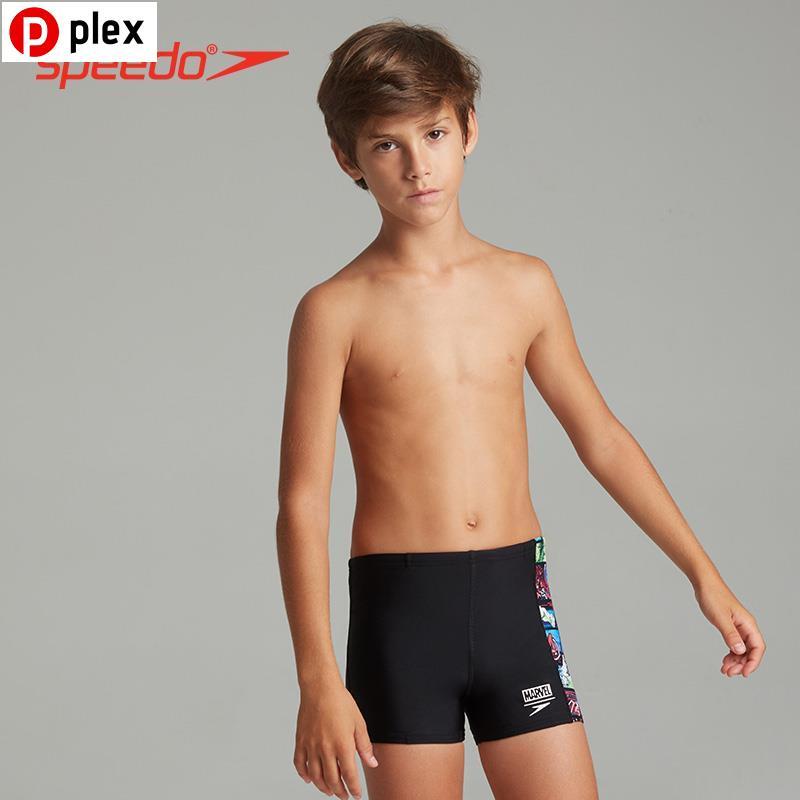 Plex(現貨)299✎Speedo/速比濤 迪士尼復仇者聯盟系列 兒童平角泳褲抗氯水陸兩用