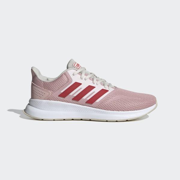 adidas runfalcon 女款 粉色 透氣 避震 慢跑鞋 Eg8630 24~25.5cm 特價 出清