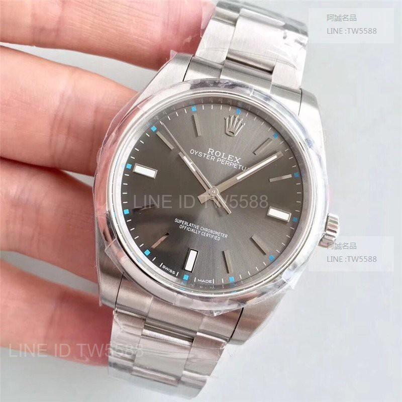 勞力士 Rolex JF工廠 蠔式恆動系列 型號114300 39MM 3132機芯 灰色面
