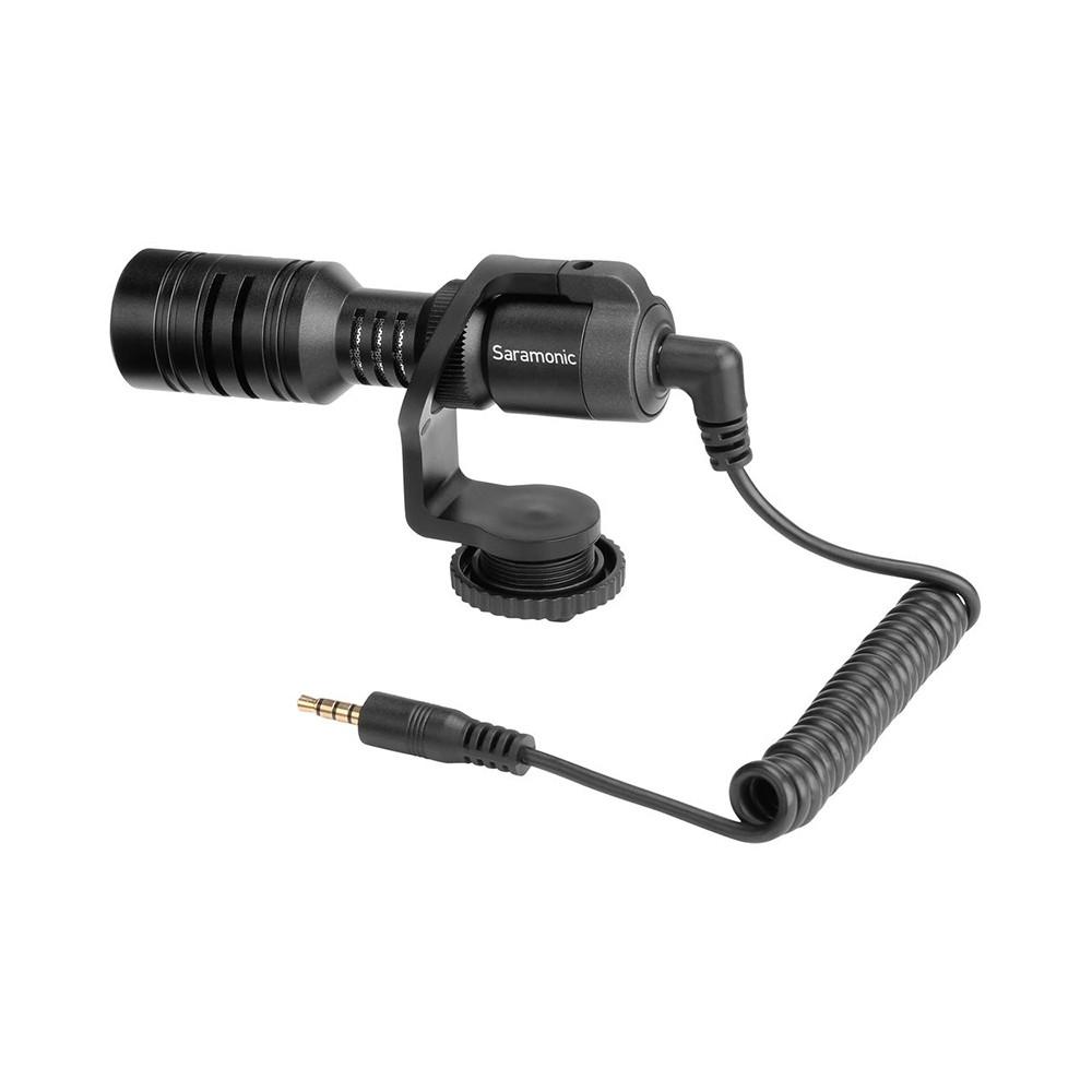 Saramonic 楓笛 Vmic Mini 迷你指向性電容式麥克風 含防風棉套 相機手機通用 相機專家 [勝興公司貨]