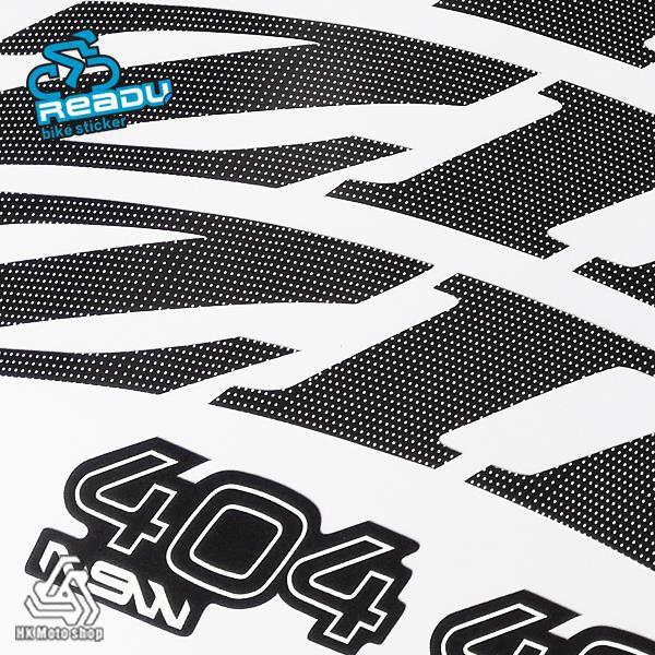 新款303 404 808 NSW公路車碳刀輪組車圈貼紙 白點涂裝不傷車漆