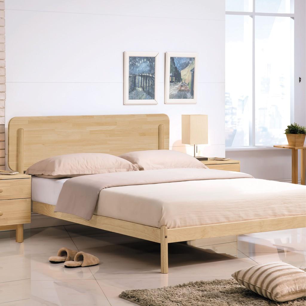 【196cm本色床架-B155-08】 床底 單人床架 高腳床組 抽屜收納 臥房床組 【金滿屋】