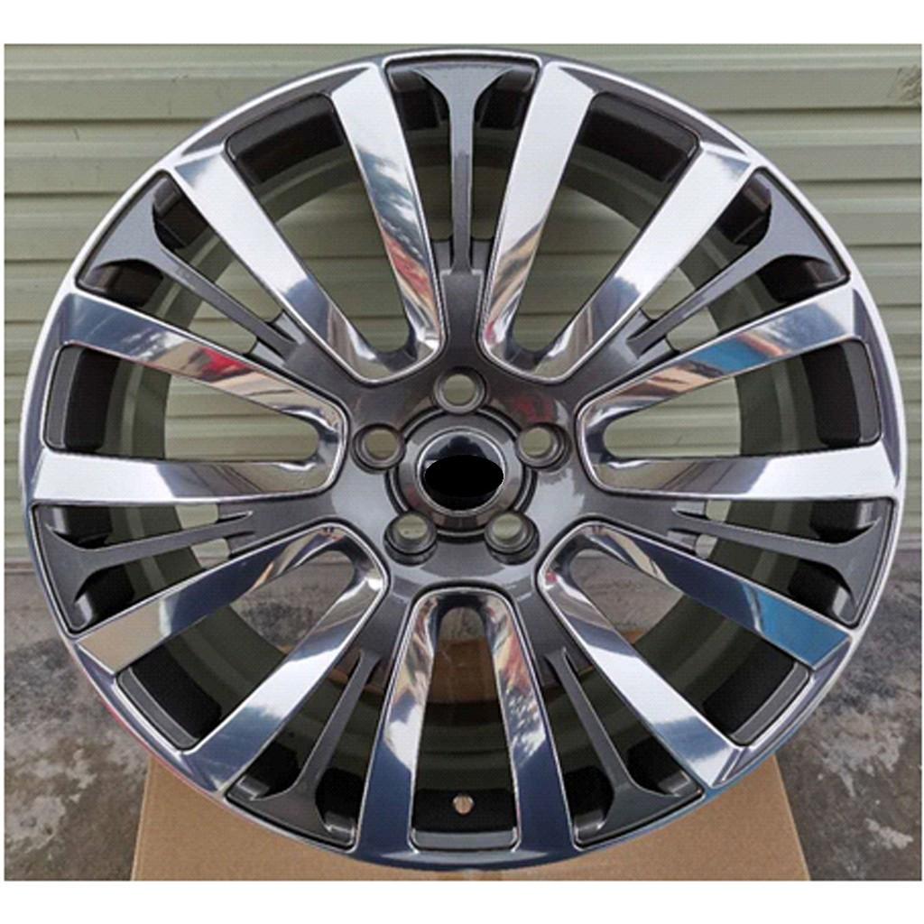 (台圈專業)工廠直營, 21吋 鍛造鋁圈(單顆)型號(X17) 21吋鍛造鋁圈,J值9.5,5孔X120,E值45