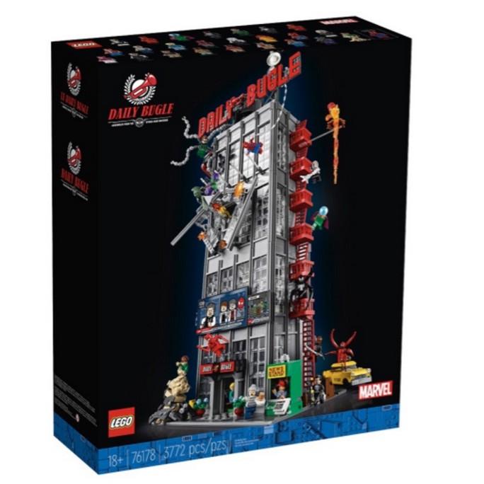 現貨 可刷卡 可面交 樂高 LEGO 76178 蜘蛛人 號角日報 Marvel 疫情期間,貨運會比較慢,可接受再下標