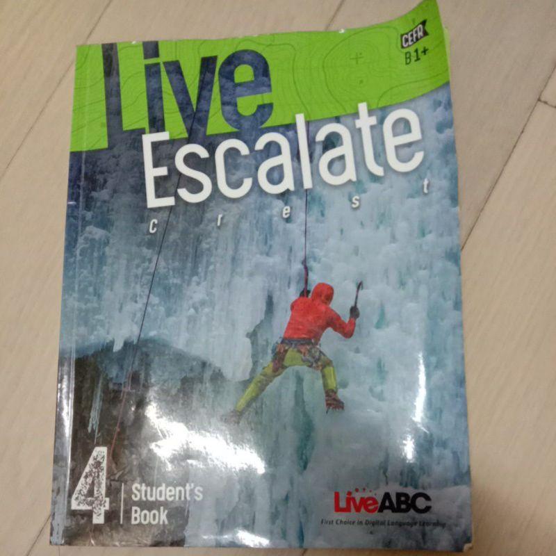 Live Escalate 4 Live ABC(二手)
