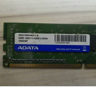 ADATA DDR3 13331600 4 8GB 記憶體(單雙面)桌機用 臺中市