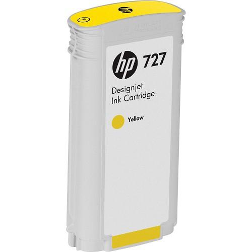 HP 惠普 B3P21A 727 130ml Yellow 原廠墨水匣 黃色墨水 DesignJet T920 T930