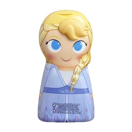 Disney 迪士尼 Frozen Elsa 艾莎2合1沐浴洗髮精(400ml)【小三美日】DS000351
