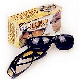 Hd Vision太陽眼鏡 夜視鏡 抗藍光 眼鏡墨鏡遮陽鏡多功能可配戴眼鏡 Sweet 蝦皮購物