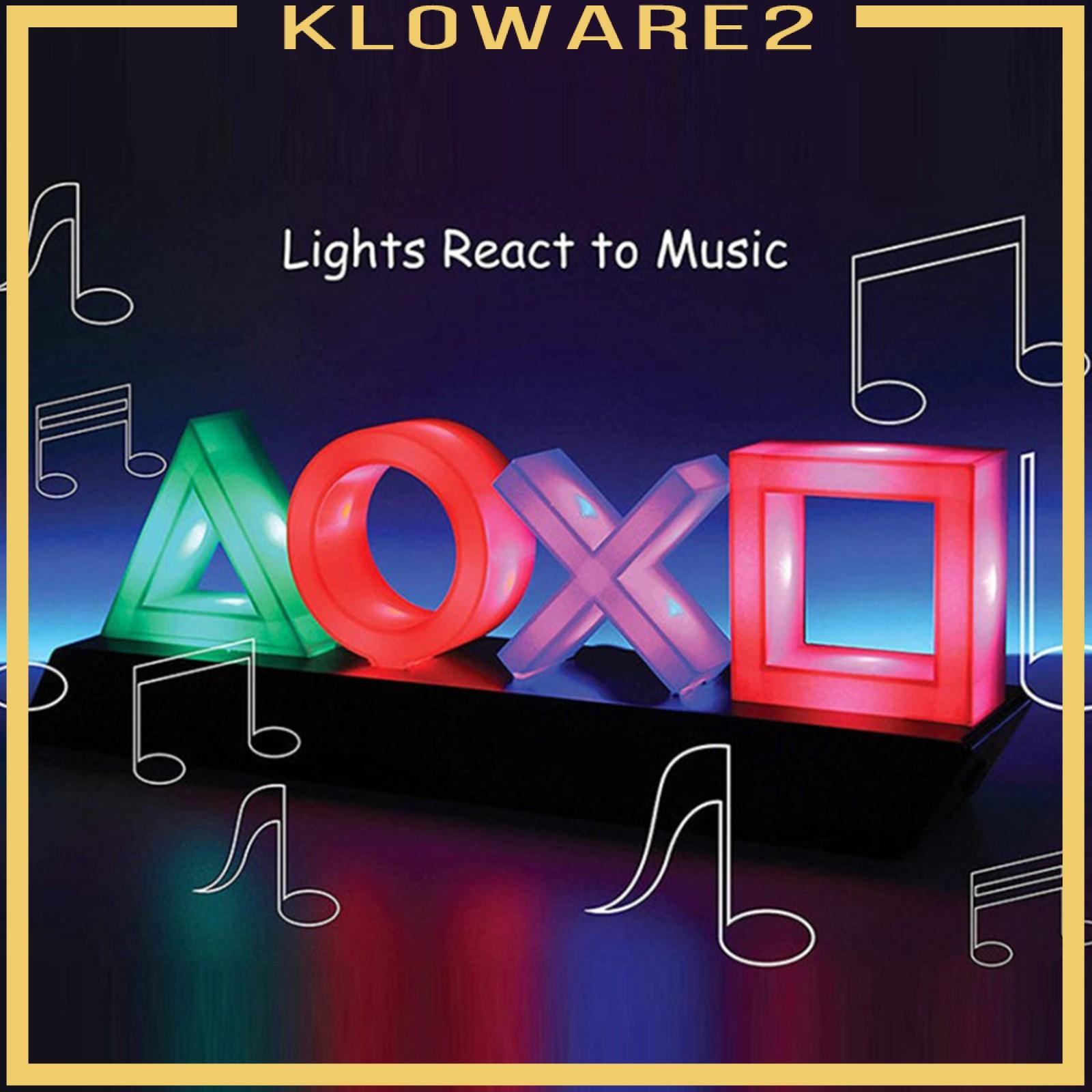 [Kloware2] Game Icons Light Lamp for Gamer Playstation 遊戲室家居
