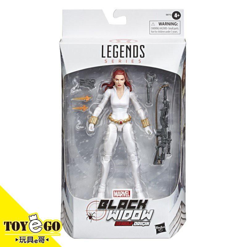 MARVEL LEGENDS 漫威超級英雄電影 傳奇6吋 黑寡婦 北極白裝 玩具e哥68236