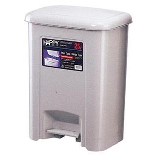 HAPPY 535強強踏式紙桶(25L垃圾桶) 腳踏掀蓋式垃圾桶 資源回收桶 大垃圾桶 分類桶 桃園可自取 桃園市