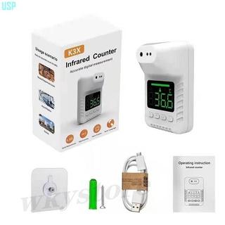 居家 商業辦K3X站立溫度測量工具可掛壁可立柱精準正品USPAA 臺南市