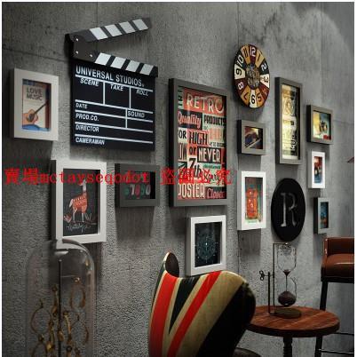 【吾家良品】復古酒吧牆面裝飾創意工業風理髮店牆壁掛件個廠家直銷性餐廳飯店牆上掛飾