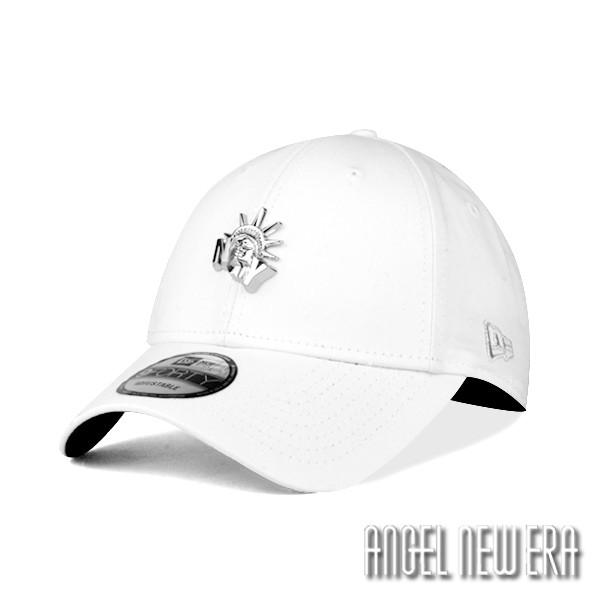 【NEW ERA】自由女神 金屬Logo 老帽 象牙白 9FORTY 街頭 穿搭 潮流【ANGEL NEW ERA】
